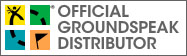 Groundspeak 4 color geocaching logo